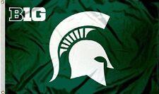 Michigan State Spartans Big 10 Flag 3 X 5