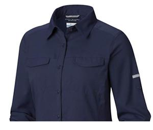 NEW Columbia Women's Silver Ridge Lite Long Sleeve Shirt, S-M-L-XL