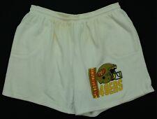 Rare VTG San Francisco 49ers Back Pocket Cotton Sweat Shorts 80s 90s White SZ XL
