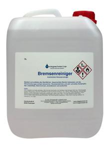 Bremsenreiniger Montagereiniger Entfetter ACETONFREI 5L Kanister 5 Liter