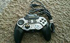 Saitek p750 Digital Gamepad Drosselklappe Rad Mac PC USB Gaming Controller gebraucht