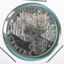 256 - 10 € FRANCE - 2011 : Région Centre - argent