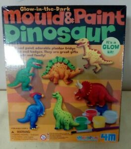 Mould And Paint Dinosaur Toy - New