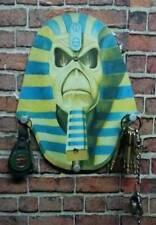 IRON MAIDEN WALL KEY HOLDER -- Coat Towel Bag Hat Rack Hanger Hooks Eddie Decor