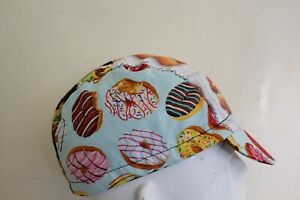 CYCLING CAP FAST FOOD  HANDMADE IN USA   S M L