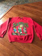 Vintage 90's Warner Bros Christmas Tweety Bird Looney Tunes Large Sweatshirt