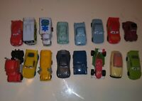 Lot Of 16 Disney Pixar CARS PVC Mini Figure Cake Toppers Micros