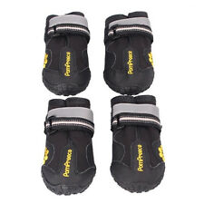 Impermeabile Grande Cane Morbido Boots per Grandi Scarpe Cane (Nero, 8)