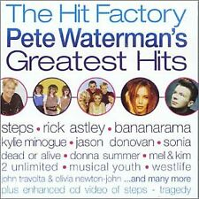 Various / The Hit Factory / Pete Watermans Greatest Hits (Best of) *NEW* CD