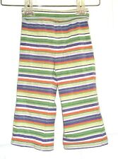 Baby Girls size 24 months The Childrens Place striped fold over waist pants