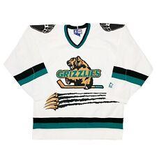 Vtg NWOT Rare IHL Denver Grizzlies Starter Hockey Jersey. Mens Large
