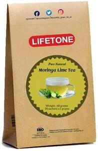 Lime Moringa Tea   Immunity Tea   Supper Food Detox 20 Teabags