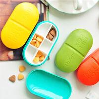 Pro Tablet Pille Aufbewahrungsbox Medizin-Organizer-Behälter-Kasten Health Care
