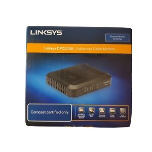 Linksys DPC3008 Advanced Cable Modem - Comcast Certified Only - New Open Box