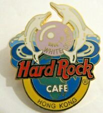 Hard Rock Cafe HONG KONG Save the White  Dolphin pin HRC Rare pin!!