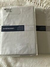 Sheridan 1000 Thread Count Hotel Luxury Weight Sateen Dove Pillowcases RRP £50