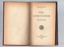 storia delle dottrine politiche - paolo mosca - laterza ba 1935