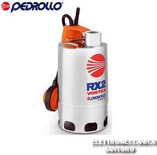 ELETTROPOMPA POMPA SOMMERSA VORTEX RXM 3/20 HP 0,75 V 220 PEDROLLO ACQUE SPORCHE