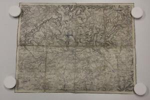 alte Historische Karte  Landkarte Saargemünd um 1900 ...3