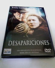 """DVD """"DESAPARICIONES"""" COMO NUEVO RON HOWARD TOMMY LEE JONES CATE BLANCHETT"""