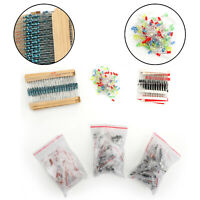 Lot 1390pcs Electronic Components LED Diode Transistor Capacitor/Resistance Kit