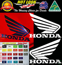 HONDA WING FUEL TANK STICKER DECAL SET SUIT CBR FIREBLADE 250 600 954 1000 RR