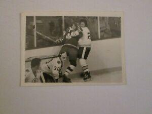 NHL 1970s Original Photo Boston Bruins Brad Park checking Inga Hammerstrom