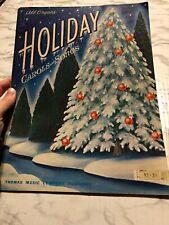 Holiday Carols and Songs All Organ Thomas Music Sheet Music Book Intermediate