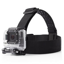 Elastic Adjustable Head Strap Mount Belt for GoPro Hero 5 4 3 Sj4000 Accessories