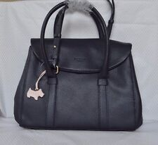 "Radley ""Waterloo"" Navy Blue in pelle multipos. Borsa BNWT RRP £ 179 NUOVO!"