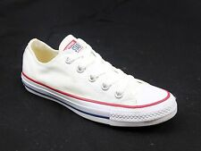 WOMENS CONVERSE ALL STAR OXFORD WHITE CANVAS CLASSIC CASUAL TRAINERS SIZE UK 4