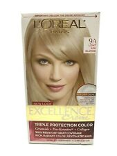 L'Oreal Permanent Hair Color w/ Ceramide Pro-Keratine Collagen Light Ash Blonde