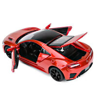 Acura NSX 1:32 Model Cars Sound&Light Toys Gifts&Collection Alloy Diecast Red