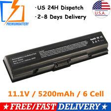 Li-ion Battery for Toshiba PA3534U-1BRS PA3534U-1BAS PA3682 Laptop 6Cell 5200mAh