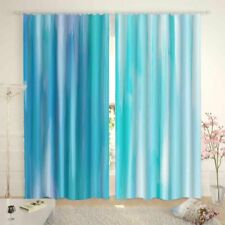 Link Blue Extreme Sky 3D Curtain Blockout Photo Printing Curtains Drape Fabric
