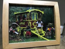 KIDS TEDDY PICTURE GLAMPING GIPSY CARAVAN FABULOUS TEDDY BEARS HOLIDAY CAMP