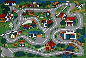 """LA Rug Country Fun 19 by 29 """" Inch Play Rug"""