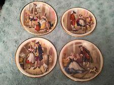 Harry Hancock (Tunstall) Ltd Rydalia Ware - Collectors Small Plates x 4.  (0155)