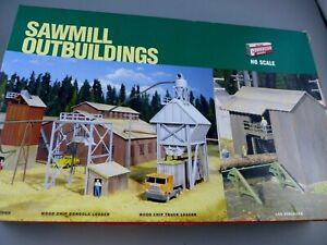 HO Cornerstone Sawmill Outbuildings 933-3144
