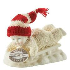 Snowbabies Department 56 Snow Scene Figurine Hold On Tight Christmas Decoration