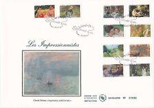 Enveloppe grand format 1er jour 2006 Série Les Impressionnistes