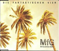 DIE FANTASTISCHEN VIER Mfg 7 TRX REMIXES & INSTRUMENTAL German Hip Hop CD Single