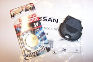 GENUINE NISSAN REMOTE FOB FRONT COVER & REPAIR KIT TERRANO R20
