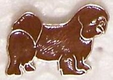 Hat Lapel Pin Scarf Clasp Dog Lhasa Apso New