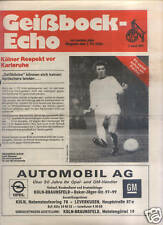 BL 76/77 1. FC Köln - Karlsruher SC