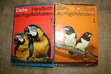 Handbuch Exotenvögel, Papagei, Fink, Webervogel, Ara, Amazonen, Kakadu, DDR 1974