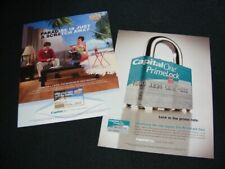 CAPITAL ONE magazine clippings Bank holding company print ads from 2004