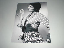 Amira Casar sexy signed autograph Autogramm 8x11 inch photo in person