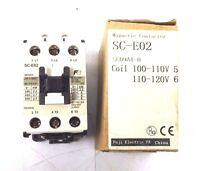 NEW FUJI ELECTRIC SC-E02 MAGNETIC CONTACTOR SCE02