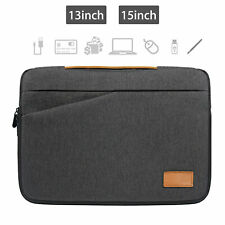 """13"""" 15"""" Laptop Sleeve Case Carry Bag for Notebook Macbook Air Pro Lenovo Dell"""
